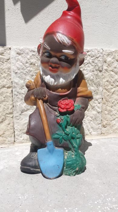 Great garden gnome/dwarf - 1965 - Germany - numbered