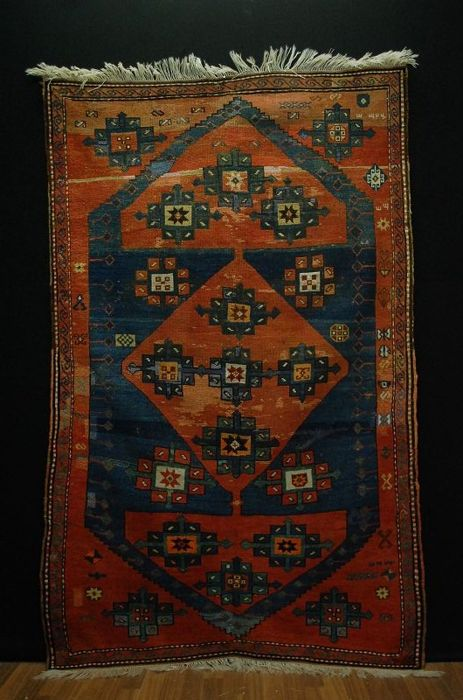 Antique Caucasian Kazak   200x123cm