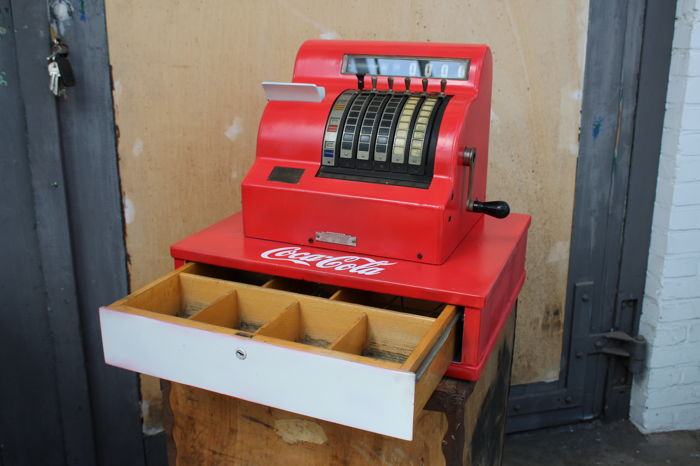 National cash register - kassa - jaren '50