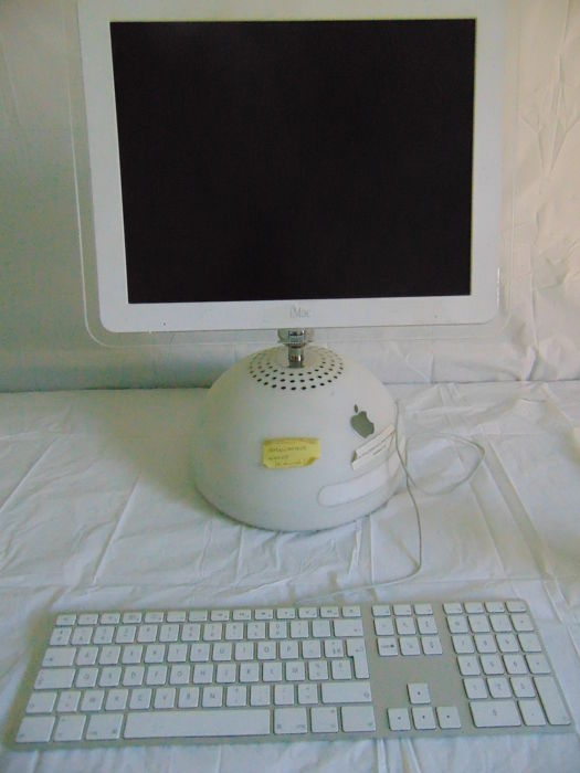 IMAC - G4 with keyboard but no mouse.