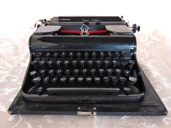 Antique Olympia typewriter, mid 20th century