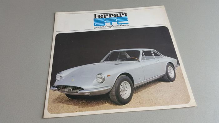 Brochures/ Catalogues - Ferrari - 1968-1968 (1 items)
