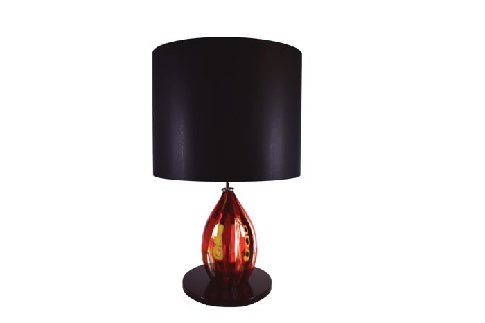 Eros Raffael - Large red lamp (90 cm)