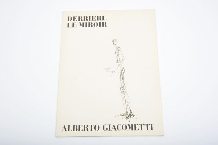 Alberto Giacometti  - Derrière le Miroir No. 98. With 3 original lithographs - 1957