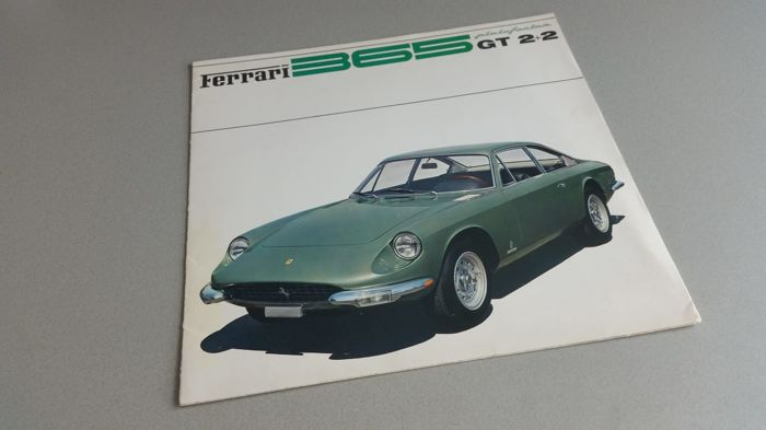 Brochures / Catalogi - Ferrari - 1968-1968 (1 items)