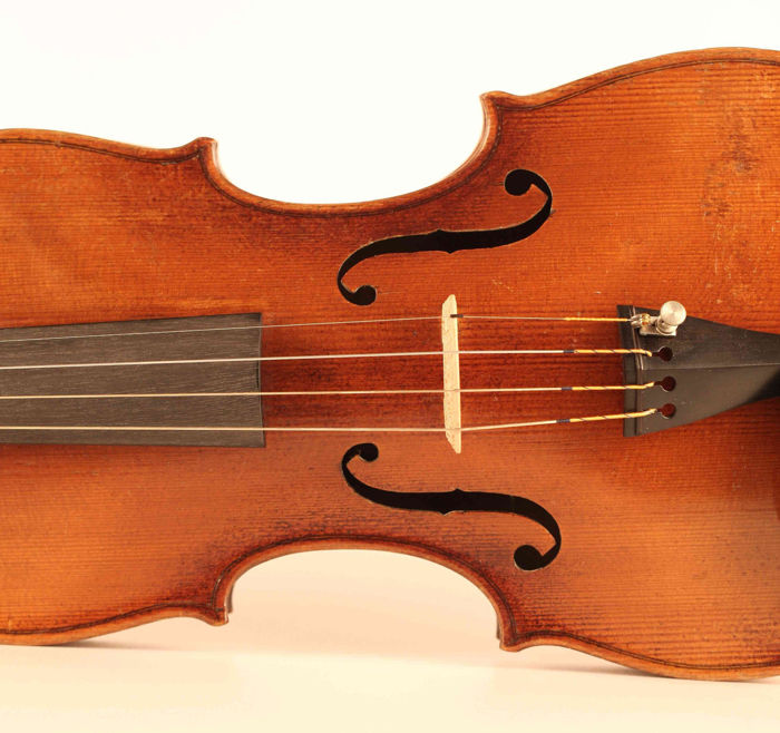 Gorgeous Large Violin, Master, Complete, Antique: Josef Kloz in Mittenwald an der Iser Anno 17-- !! Excellent condition