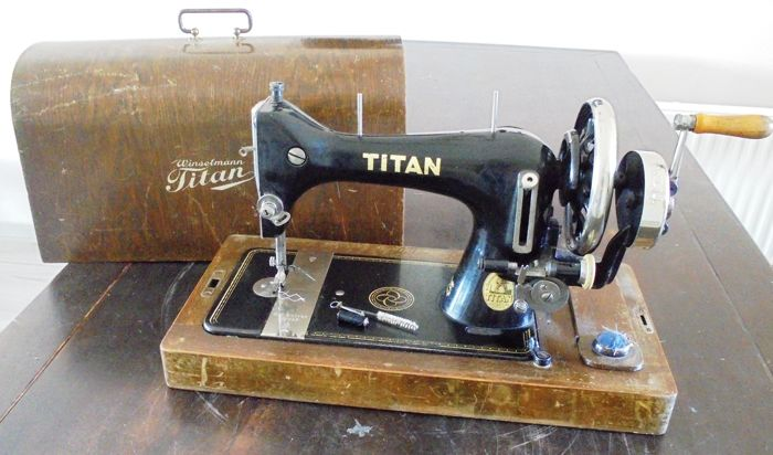 Winselmann Titan Sewing Machine early 1900