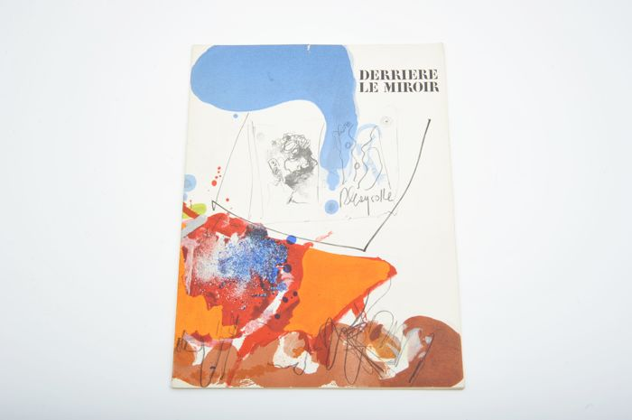 Paul Rebeyrolle - Derrière le Miroir No. 163. With 8 original lithographs in colors - 1967