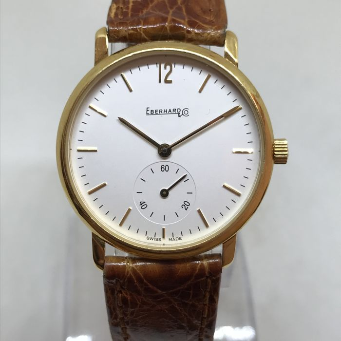 Eberhard & Co. - Vintage Oro 18kt Gold 18kt - 20015 - Heren - 1970-1979
