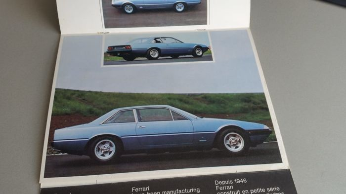 Brochures / Catalogi - Ferrari - 1973-1973 (1 items)