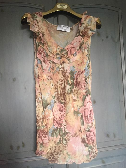 Blumarine - Blouse print with roses