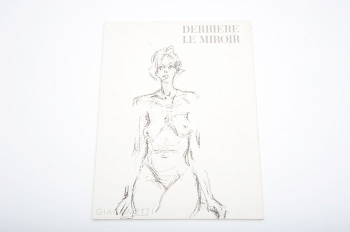 Alberto Giacometti - Derrière le Miroir No. 127. With 14  lithographs - 1961
