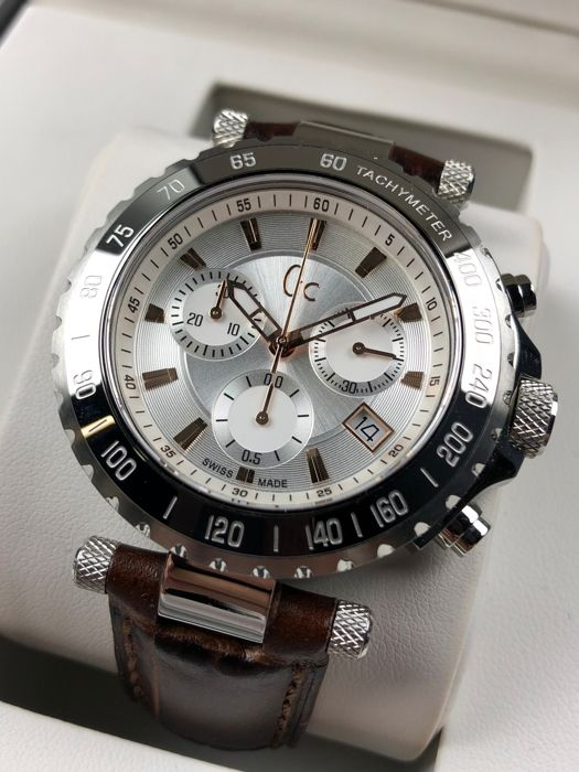 """Guess collection - Diver Chic Chronograph - """"NO RESERVE PRICE"""" - X58005G1S - Heren - 2011-heden"""
