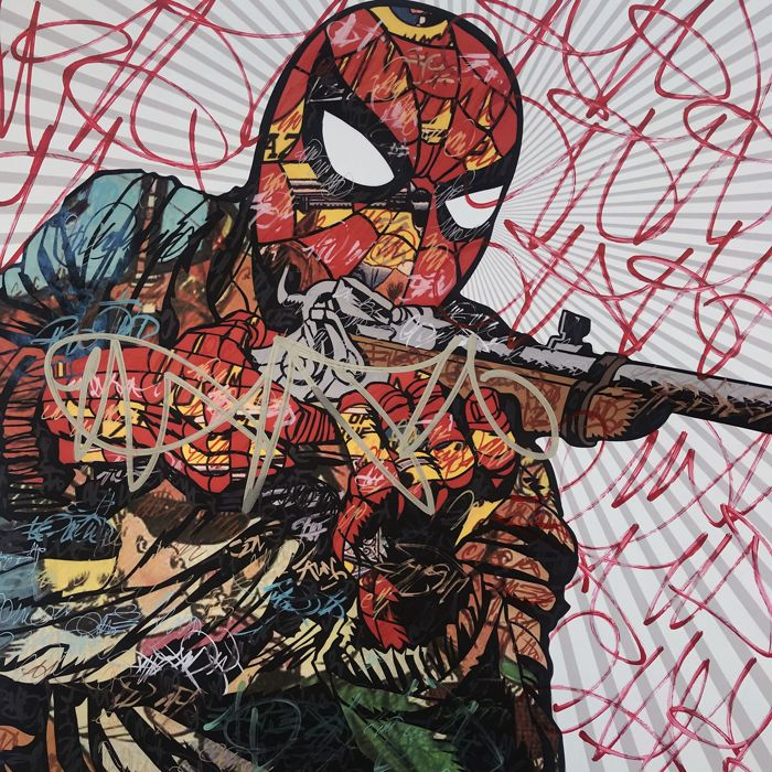 Dillon Boy - Western Graffiti / The Amazing Spiderman