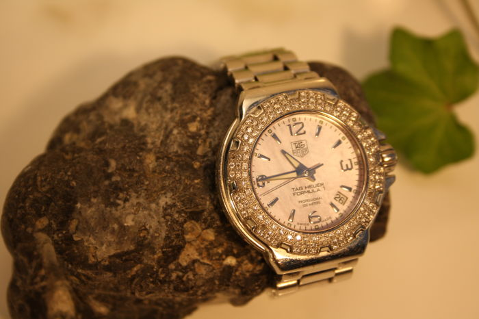 TAG Heuer - Formula 1 Diamonds Pink lady - WAC1216.BA0852 - Dames - 2012
