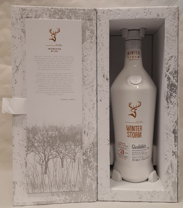 Glenfiddich Winter Storm - 21 years old - Experimental Series #03 - Icewine Cask Finish - batch no. 2