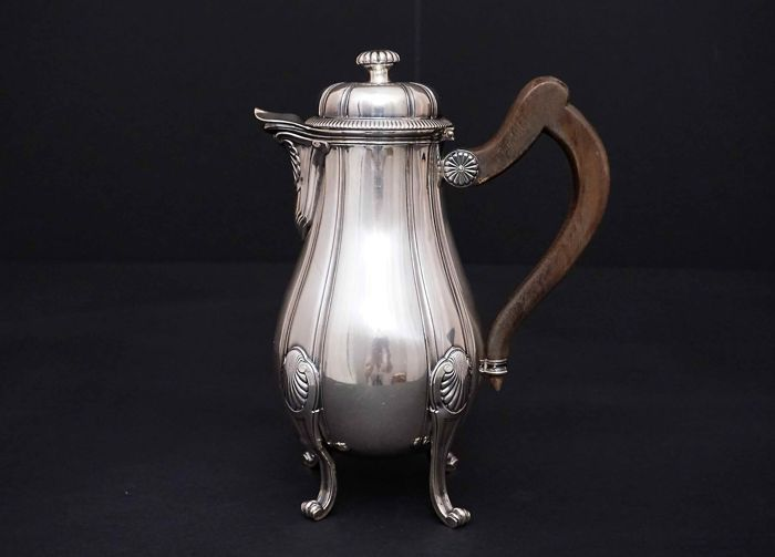 Sterling silver Coffee Pot - Henin&Cie - France - 1896-1901