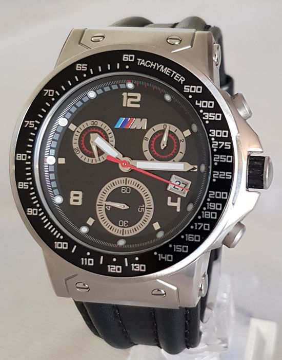 bmw m box watch watch chronograph for men made in. Black Bedroom Furniture Sets. Home Design Ideas