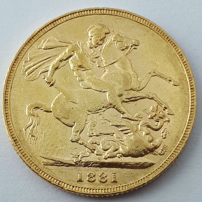 Australie - Sovereign 1881-M Victoria - Or