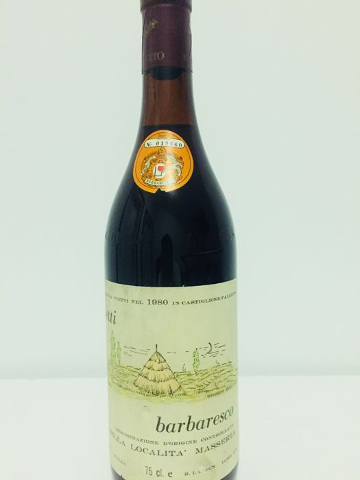 1980 Vietti, Barbaresco Masseria - 1 bottle(75cl)