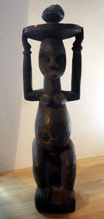 Large sculpture - wood - Africa