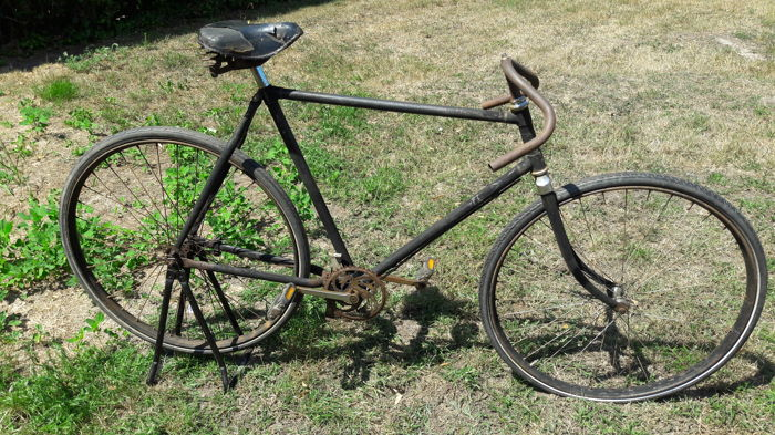 Gazelle - Pathracer met Moustache stuur - Road bicycle - 1950's
