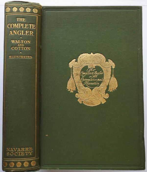 Izaak Walton And Charles Cotton The Complete Angler 1925 Catawiki