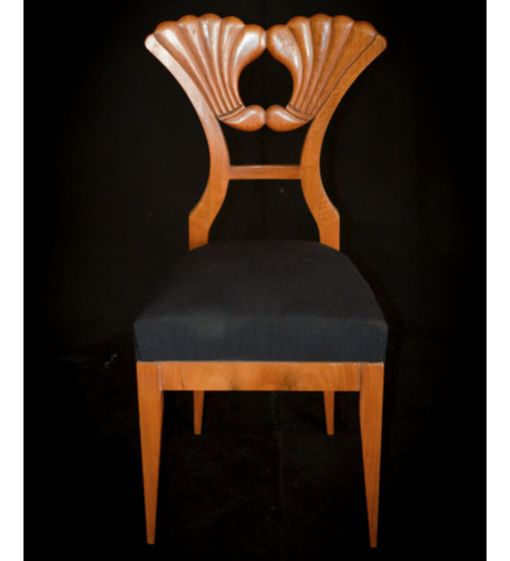 Biedermeier Chair   Mahogany   Northern Europe   C. 1825