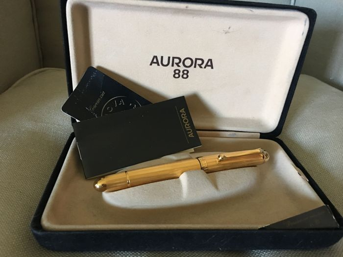 Aurora 88 Big- Gold Plated - never used