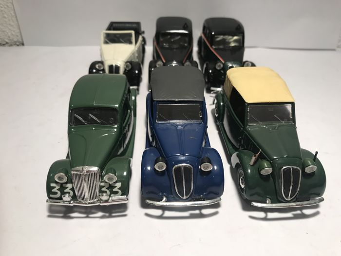 Brumm - 1:43 - Lot with 6 models:  - Gemaakt in Italië