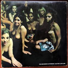 "Jimi Hendrix Experience ""Electric Ladyland"" 1968 UK  double lp with nude ladies cover"