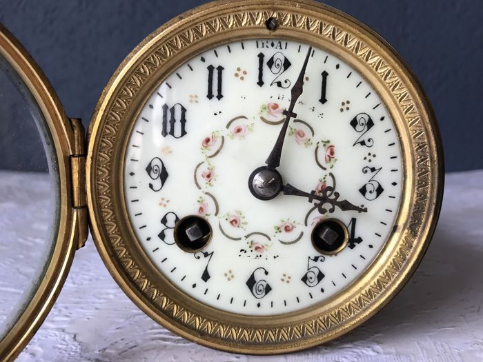 AD Mougin - French pendulum movement - France - Approx. 1900