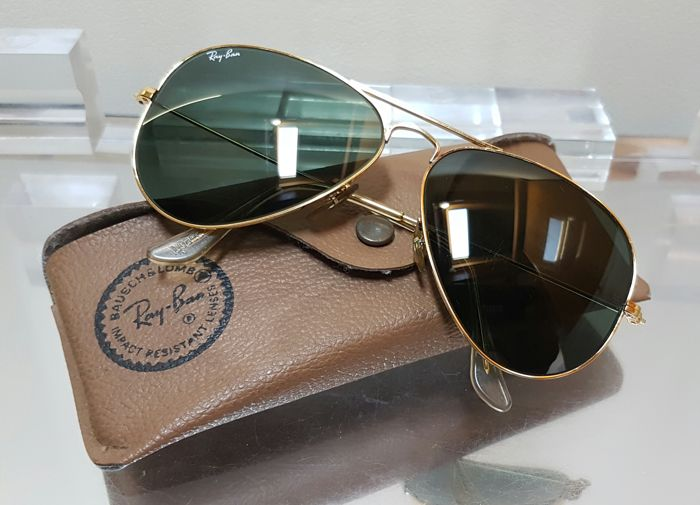 59d7a4c0eb2 ... real ray ban usa bausch and lomb aviator unisex 17610 64d2d