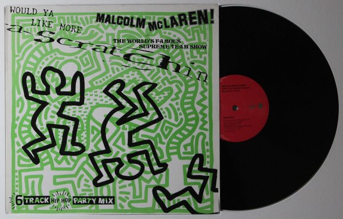 Keith Haring x Malcolm McLaren - Would you like more scratchin ...
