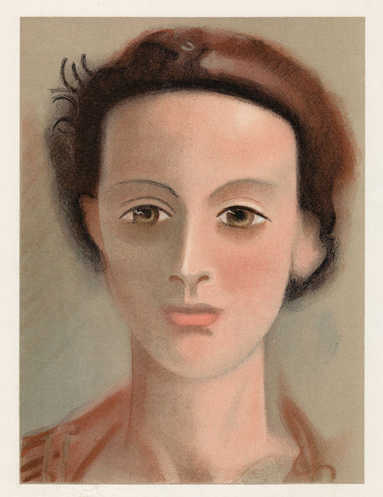 Andre Derain - Portrait of a Young Lady