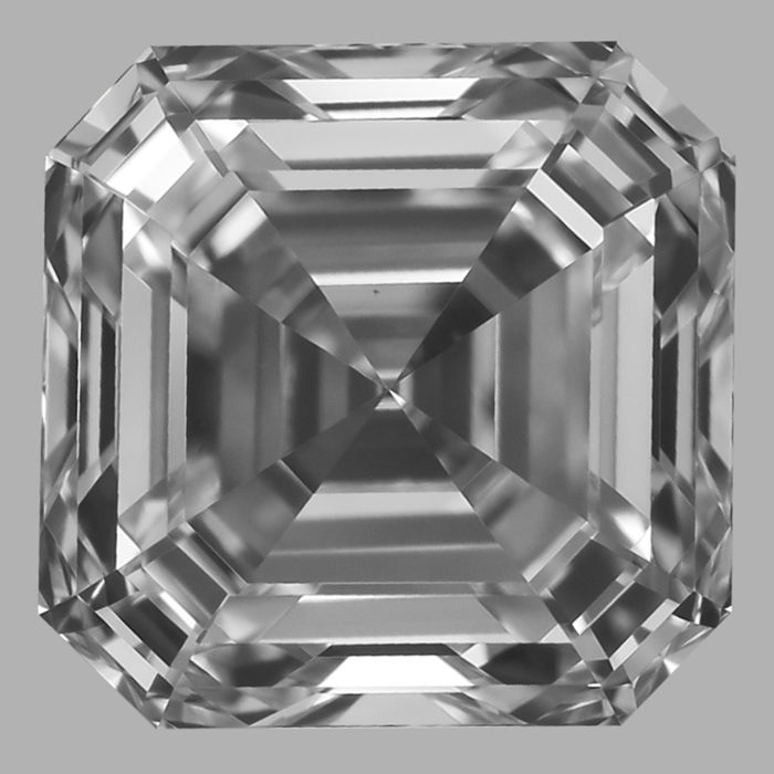 0.80ct Square Emerald Cut diamond D VS1  GIA# 2195114609