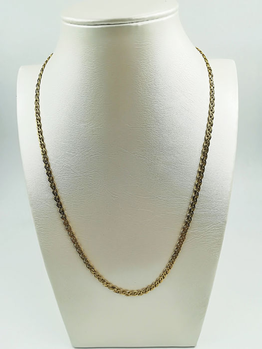 Chain in 18 kt yellow gold, length: 43.00 cm, total weight: 7.74 g