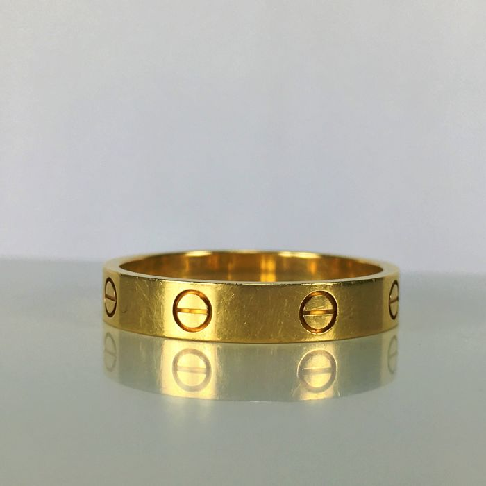 Cartier - Love Wedding Band - Ref.GH 2298 - 18k Yellow Gold Size 62 Ring