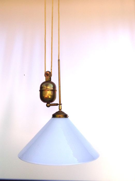 2 classical copper pendulum lamp with counterweight