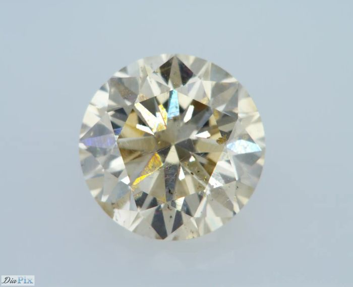 1.01 Carat Natural Fancy Champagne VS2 Round Brilliant Certified & Sealed - Very Low Reserve!