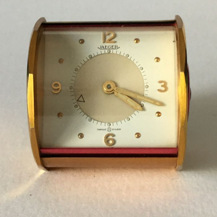 Travel table clock from Jaeger circa 1980