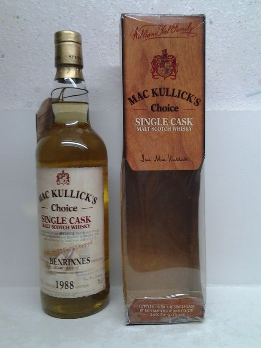 Benrinnes 1988 - Mackillop's Choice -