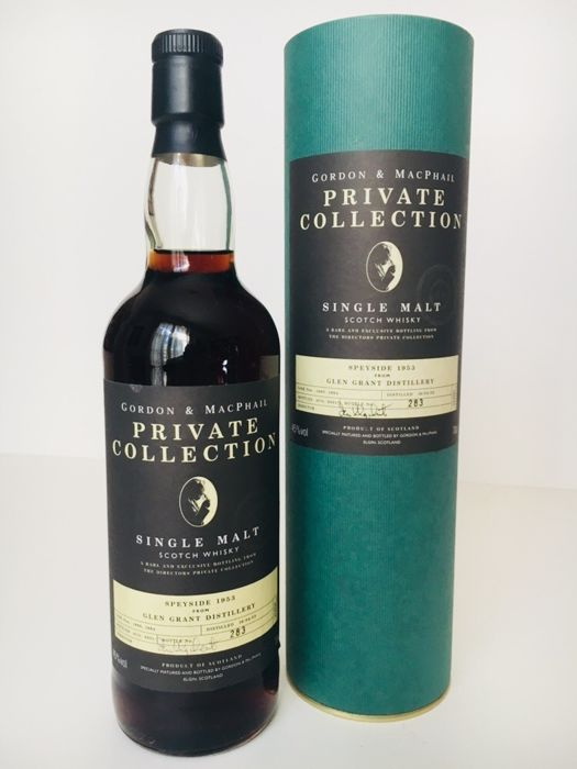 Glen Grant 1953 48 years old - G&M Private Collection