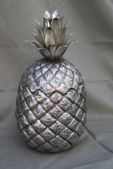 Mauro Manetti for Fonderia d'Arte - vintage ice bucket in the shape of a pineapple