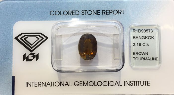 Brown Tourmaline - 2.19 cts No reserve Price