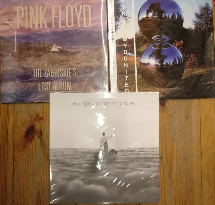 Three very rare albums of Pink Floyd || Great quality ||  Coloured || Mint & Sealed