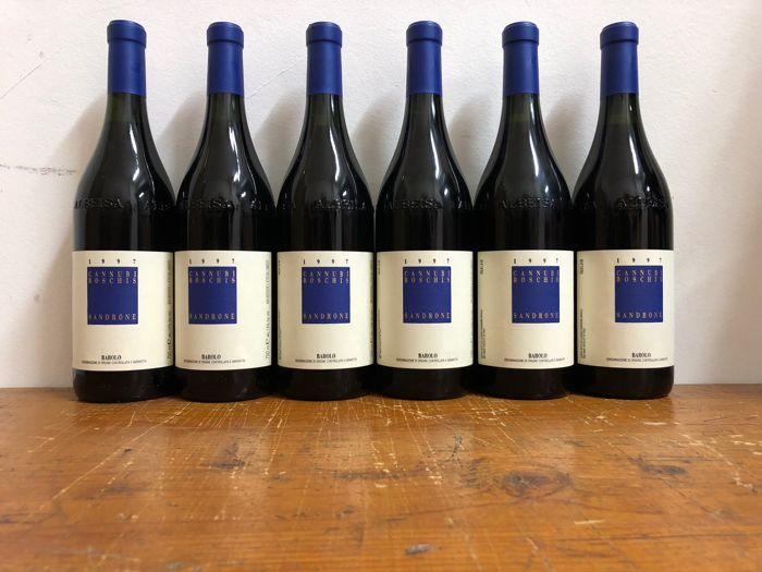 1997 Luciano Sandrone Aleste-Cannubi Boschis, Barolo DOCG - 6 bottles in OWC