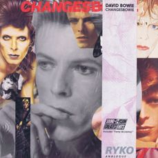 DAVID BOWIE - 2LP-set: Changesbowie (Ryko RALP0171-2)  USA 1990 Coke Bottle Green Clear vinyl compilation album
