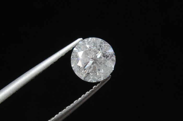 1.41 ct Brilliant cut Diamond - G / SI3  ***** LOW RESERVE *****