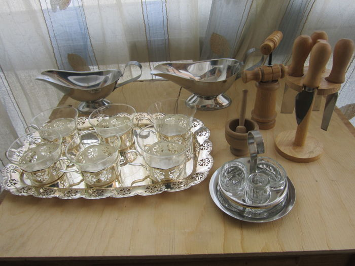Various cooking objects as shown in the photos, Italy